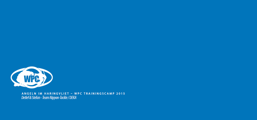 Angeln im Haringvliet – WPC Trainingscamp 2015