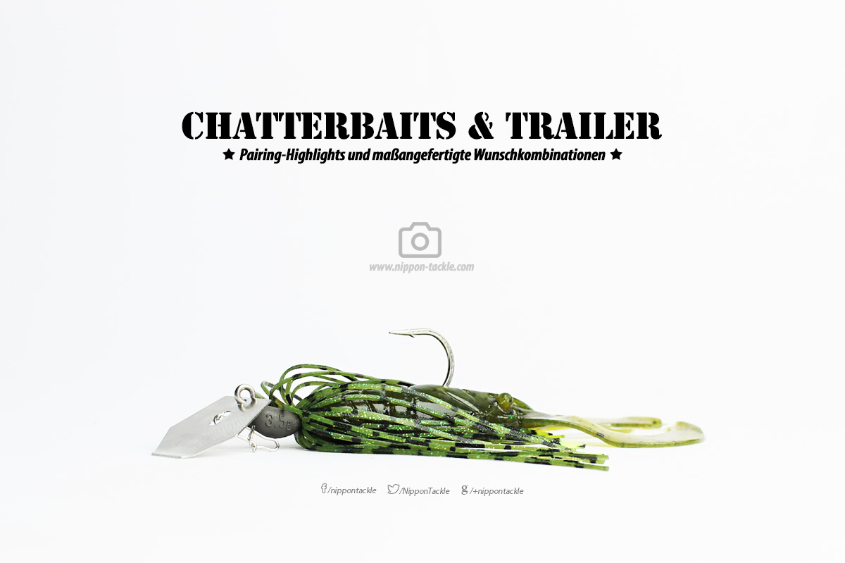 Chatterbaits und Trailer - Gummiköder Gallerie 1