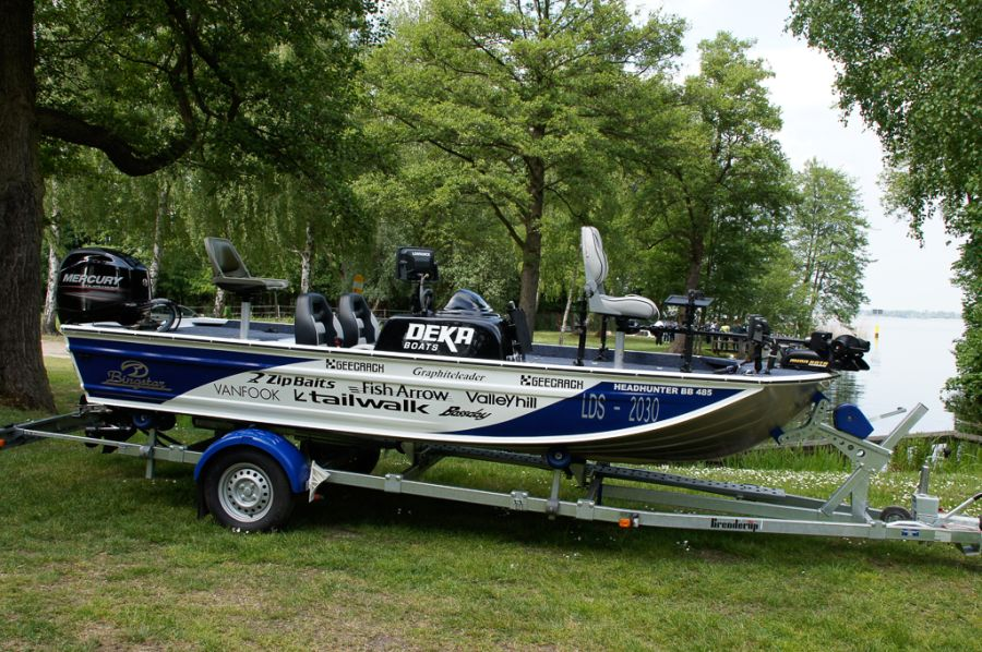 DEKA 485 Tournament Bassboat - Angelboot aus Aluminium, Aufbau 1