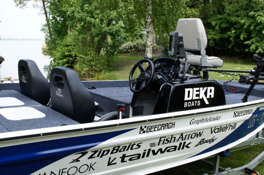 DEKA 485 Tournament Bassboat - Angelboot aus Aluminium, Aufbau 4
