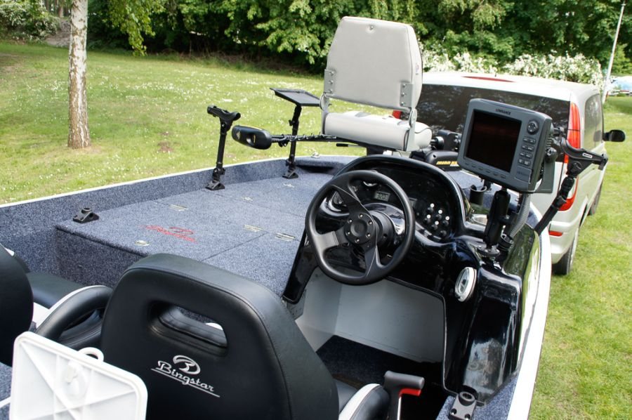 DEKA 485 Tournament Bassboat - Angelboot aus Aluminium, Aufbau 6